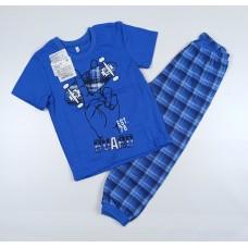 Пижама детская арт. ПЖ-2 синий