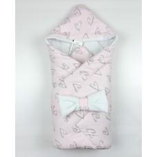 Конверт на выписку для новорожденных арт. Б7971А розовый