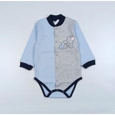 Боди детское арт. Т-04106/1 серый-1