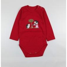 Боди детское арт. Т-04103И красный-3