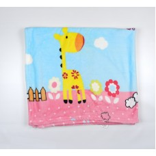 Плед детский арт. М8720 розовый
