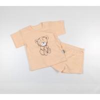 Комплект детский (футболка, шорты) арт. КЛ.333.026.0.196.011 оранжевый