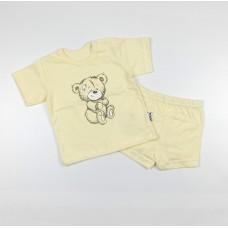 Комплект детский (футболка, шорты) арт. КЛ.333.026.0.196.011 желтый
