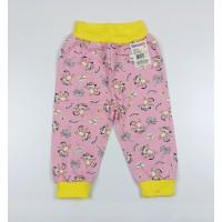 Штанишки детские арт. 117к розовый обезьянки