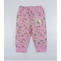 Штанишки детские арт. 014к розовый обезьянки