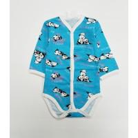 Боди детское арт. 13 голубой панды