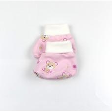 Пинетки детские розовый