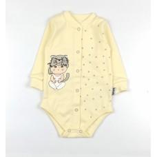 Боди детское арт. КЛ.290.040.0.261.005 желтый