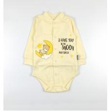 Боди детское арт. КЛ.290.040.0.205.005 желтый