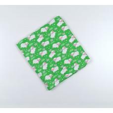 Пеленка трикотажная арт. НПМ зеленый