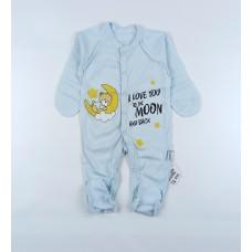 Комбинезон детский арт. КЛ.310.009.0.205.005 голубой