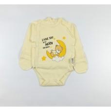 Боди детское арт. КЛ.110.004.0.205.005 желтый