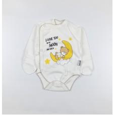 Боди детское арт. КЛ.110.004.0.205.005 белый