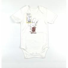 Боди детское арт. ПК-1502 белый