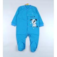 Комбинезон детский с микроначесом арт. КБ-502 голубой