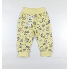 Штанишки детские арт. 117к желтый обезьянки