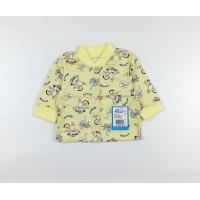 Кофточка детская арт. 001к желтый обезьянки