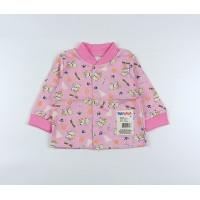 Кофточка детская арт. 001к розовый собачки