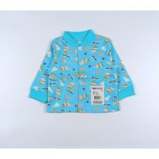 Кофточка детская арт. 001к голубой собачки