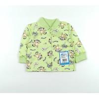 Кофточка детская арт. 001к салатовый обезьянки