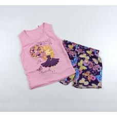 Комплект детский (майка, шорты) арт. CNF0002 розовый