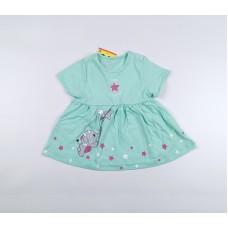 Платье детское арт. ПЛ-735 ментоловый