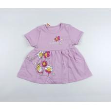 Платье детское арт. ПЛ-735 фиолетовый