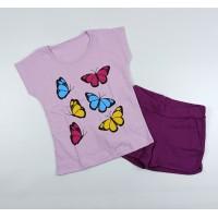 Комплект детский арт. КМ-1423 бабочки