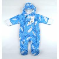 Комбинезон утепленный детский арт. T-024 голубой