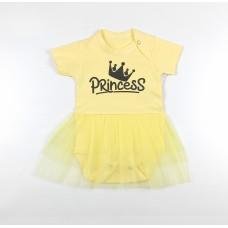 Боди-платье арт. 36-219 желтый