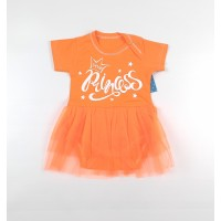 Боди-платье арт. 36-219 оранжевый