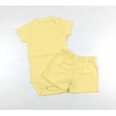 Комплект (боди, шорты) арт. 9-219 желтый