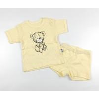 Комплект детский (футболка, шорты) арт. КЛ.333.026.0.196.044 желтый