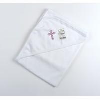 Пеленка для крещения с уголком арт. КН-03 розовый