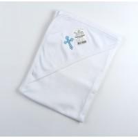 Пеленка для крещения с уголком арт. КН-03 голубой