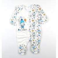 Комбинезон детский с микроначесом арт. MT002 голубой