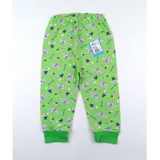 Штанишки детские арт. 014к зеленый собачки
