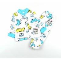 Комплект детский утепленный (кофточка, ползунки) арт. 0693301102