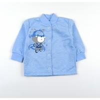 Кофточка с микроначесом детская арт. CH005 голубой