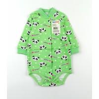Боди детское с микроначесом арт. 077ф зеленый