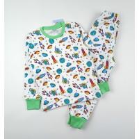 Пижама с микроначесом арт. SM677-3