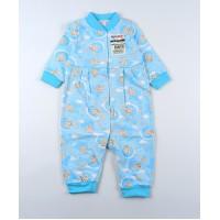 Комбинезон детский с микроначесом арт. 01923001 голубой