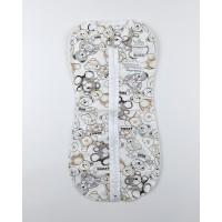 Пеленка-кокон арт. ПЛ-08 белый-2