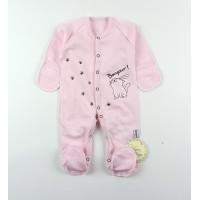 Комбинезон детский с микроначесом арт. КЛ.310.009.0.271.055 розовый