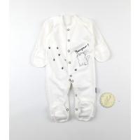 Комбинезон детский с микроначесом арт. КЛ.310.009.0.271.055 белый