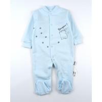 Комбинезон детский с микроначесом арт. КЛ.310.005.0.271.055 голубой