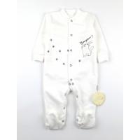 Комбинезон детский с микроначесом арт. КЛ.310.005.0.271.055 белый