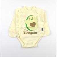 Боди детское с микроначесом арт. КЛ.110.004.0.274.055 желтый