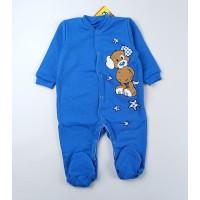 Комбинезон детский с микроначесом арт. КБ-502 синий