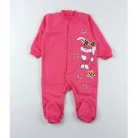 Комбинезон детский с микроначесом арт. КБ-502 розовый